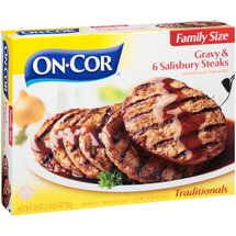 On-Cor Traditionals Gravy & 6 Salisbury Steaks