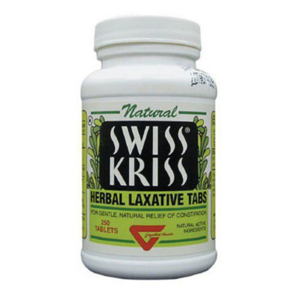 Swiss Kriss Herbal Laxative, Tabs