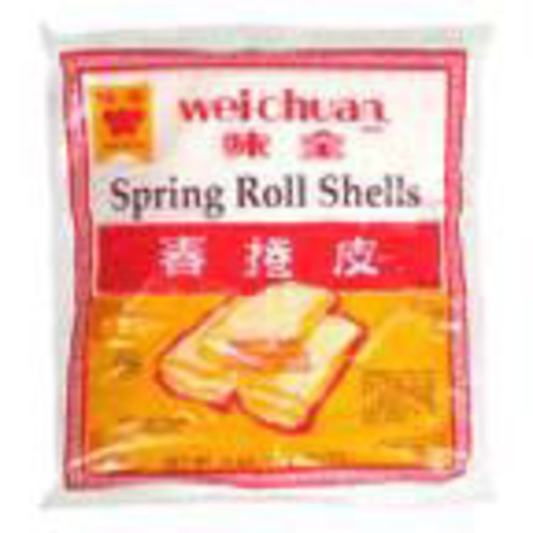 Wei Chuan Frozen Egg Roll Wrappers
