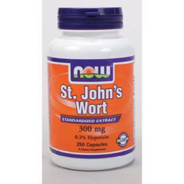 Now St. John's Wort Standardized Extract 300 mg V-Caps