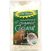 Let's Do Organic Organic Unsweetened Coconut Flakes