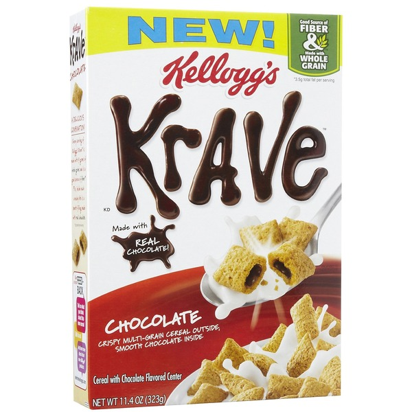 Kellogg's Krave Chocolate Cereal