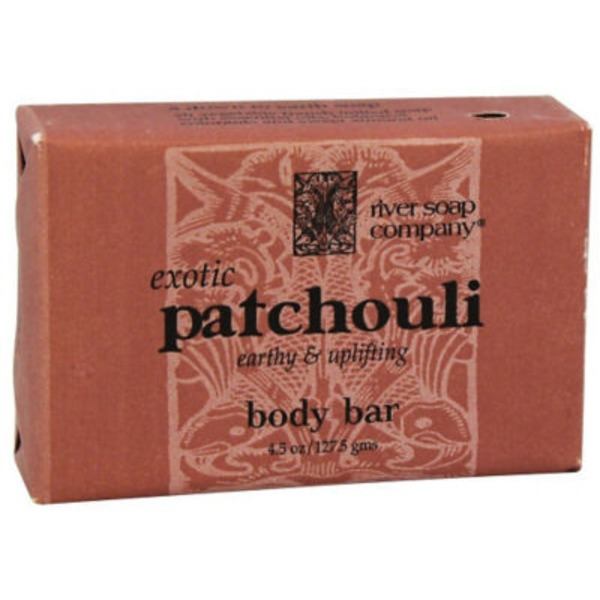 River Soap Company Exotic Patchouli Body Bar Soap