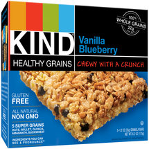KIND Healthy Grains Bars Vanilla Blueberry