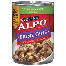 Purina ALPO Prime Cuts Homestyle with Lamb & Rice In Gravy Dog Food