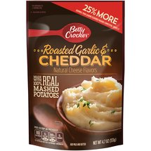 Betty Crocker Roasted Garlic & Cheddar Mashed Potatoes