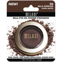 Milani Bella Eyes Gel Powder Eyeshadow 06 Bella Espresso Satin Matte