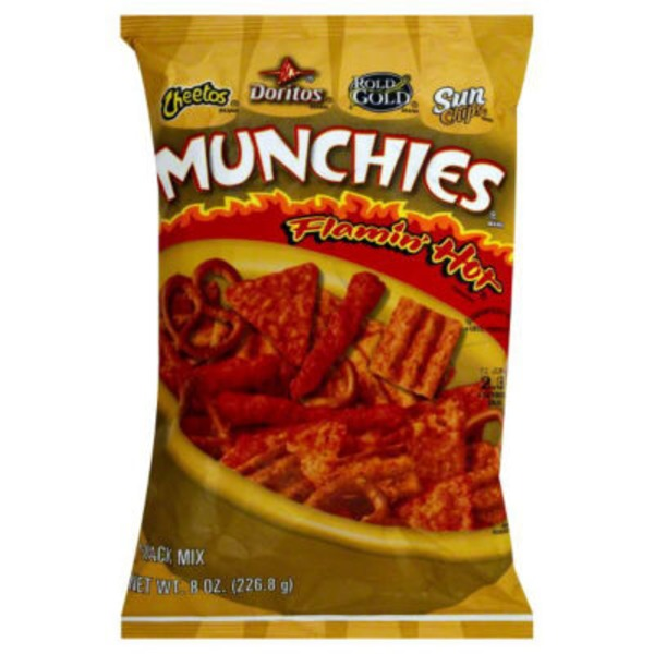 H E B Munchies Flamin Hot Snack Mix Delivery Online In Austin