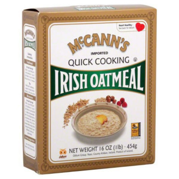McCann's Quick Cooking Rolled Oats Irish Oatmeal
