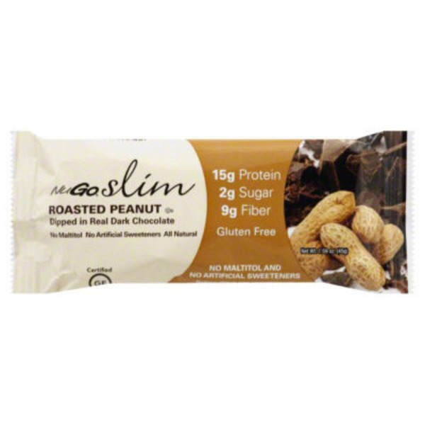 NuGo slim Roasted Peanut Protein Bar