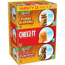 Kellogg's 100 Calorie Right Bites Snacks Variety Pack