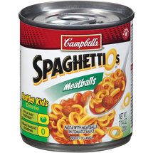 Campbell's SpaghettiOs Meatballs A to Z's Pasta with Meatballs in Tomato Sauce