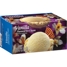 Great Value Vanilla Flavored Ice Cream