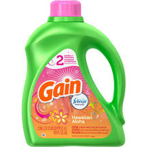 Gain 2x Ultra With Febreze Detergent Hawaiian Aloha