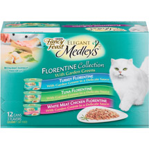 Fancy Feast Elegant Medleys Florentine Cat Food