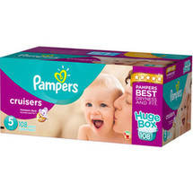 Pampers Cruisers Diapers Huge Box Size 5
