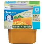 Gerber 2nd Foods Organic Mac & Cheese with Vegetables Baby Food