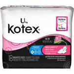 Kotex Menstrual Ultrathin w/Wings Pads