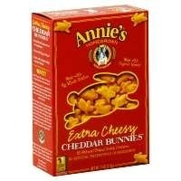 Annie's Homegrown Extra Cheesy Cheddar Bunnies