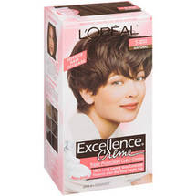 L'Oreal Excellence Creme Triple Protection Medium Reddish Brown Warmer 5Rb Hair Color