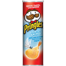 Pringles Lightly Salted Potato Crisps