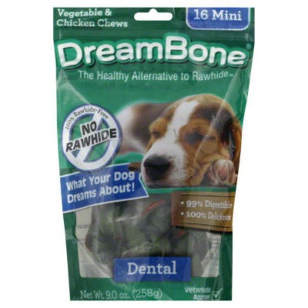 DreamBone Chews Dental - 16 CT