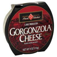 Kroger Private Selection Gorgonzola Crumbled Cheese