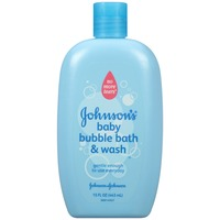 Johnson's® No More Tears Baby Bubble Bath & Wash