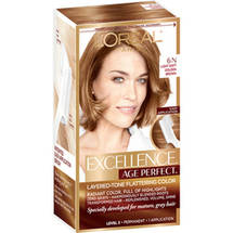 L'Oreal Paris Excellence Age Perfect Layered-Tone Flattering Color Kit 6N Light Soft Golden Brown