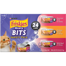 Friskies Sliced Variety Pack Cat Food