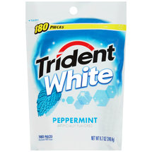 Trident White Peppermint Sugar Free Gum