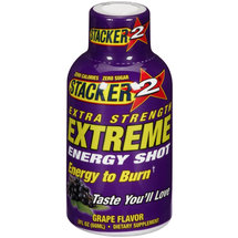 Stacker 2 Grape Flavor Extreme Energy Shot