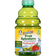 Gerber Graduates Fruit Splashers Strawberry Kiwi