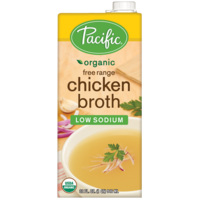 Pacific Low Salt Organic Chicken Broth