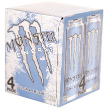 Monster Ultra Blue Energy Drinks