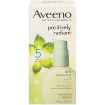 Aveeno Positively Radiant Daily Moisturizer SPF 15 Facial Moisturizers
