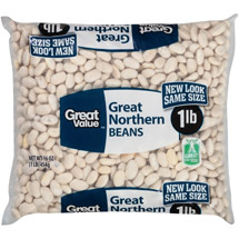 Great Value Great Northern Dried Beans