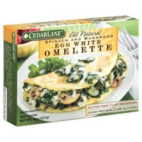 Cedarlane Foods Omelet, Spinach, Mushroom Breakfast Meal