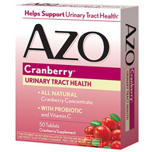 Azo Cranberry All Natural Cranberry Supplement