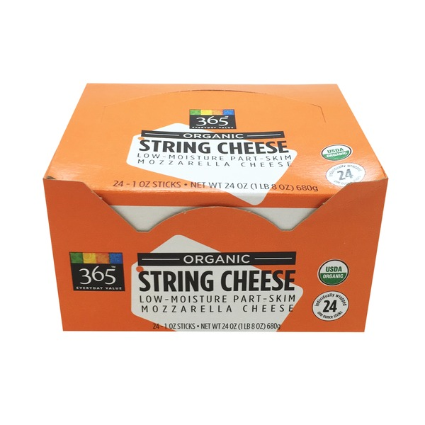 365 Organic String Cheese