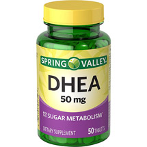Spring Valley DHEA Dietary Supplement Tablets