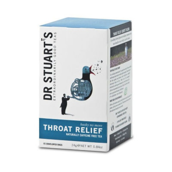 Dr. Stuart's Throat Relief Tea