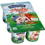 Stonyfield Organic YoBaby Blueberry/Apple Yogurt