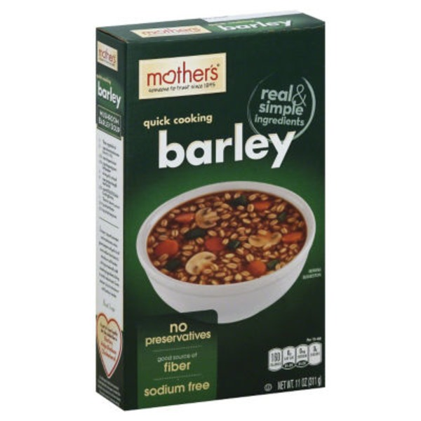 Mother's Quick Cooking Barley Hot Cereal
