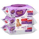 Parent's Choice Scented Flip-Top Baby Wipes Triple Pack