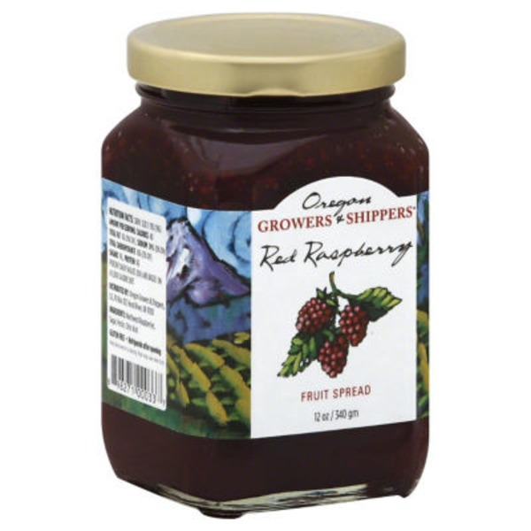 Oregon's Wild Harvest Red Raspberry Fruit Spread