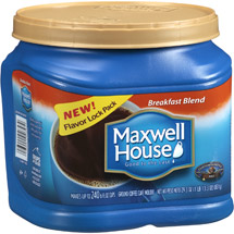 Maxwell House Breakfast Blend Mild Coffee
