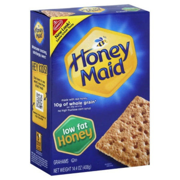 Honey Maid Honey Low Fat Grahams