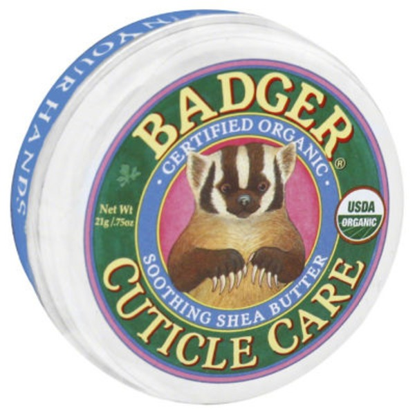 Badger Organic Soothing Shea Butter Cuticle Care