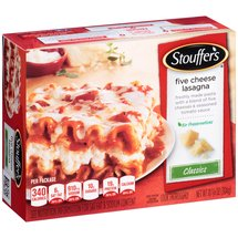 Stouffer's Signature Classics Five Cheese Lasagna